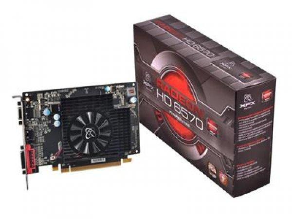 PLACA DE VIDEO ATI RADEON HD6570 2 GB DDR3 HDMI  XFX PCI EXPRESS