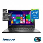 NOTEBOOK LENOVO CORE I3 RAM 4GB HD 1TB W10H 320-15ISK